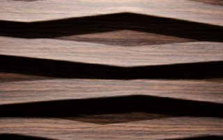 Heartwood walnut - Real wood veneer